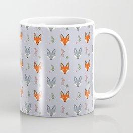 Cute Fox Pattern - Earl Grey Coffee Mug