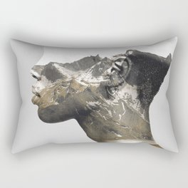 Portrait (Nature) Rectangular Pillow