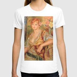 """Auguste Renoir """"Blonde à la rose"""" T-shirt"""