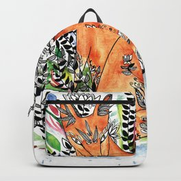 Tatoo fox Backpack