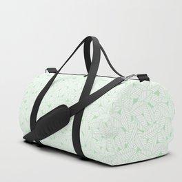 Leaves in Wintergreen Duffle Bag