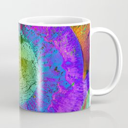 Eye mouth hands Coffee Mug