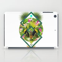 kris tate iPad Cases featuring ▲ TROPICANA ▲ by KRIS TATE x BOHEMIAN BLAST by ▲ BOHEMIAN BLAST ▲