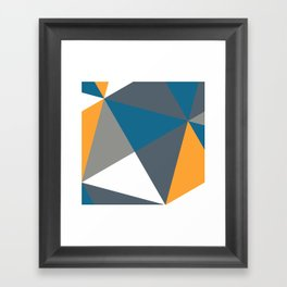 Vermillion Slate Framed Art Print