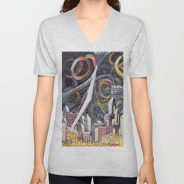Bridging Heaven and Earth Unisex V-Neck