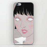 fig iPhone & iPod Skins featuring Fig. 1 by Lala Gallardo