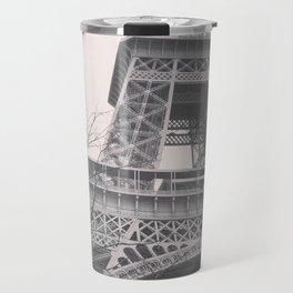 Eiffel tower, Paris, black & white photo, b&w fine art, tour, city, landscape photography, France Travel Mug