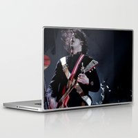 jack white Laptop & iPad Skins featuring Jack White Airline Satan by Christopher Chouinard