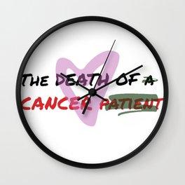 Linear logo Wall Clock