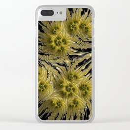 Xanthian Sunflowers Clear iPhone Case