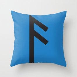 Showtasting - Rune 17 Throw Pillow
