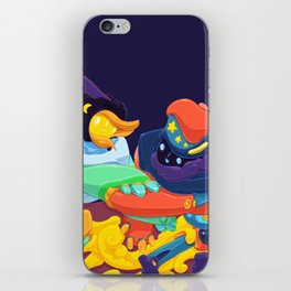 Moon & Stars iPhone Skin