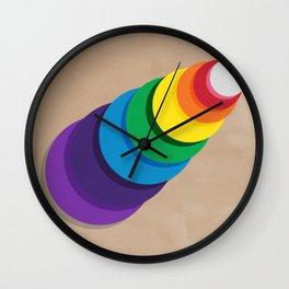 Roy G. Biv Wall Clock