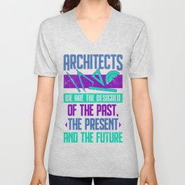 Architect Architectural Designer Profession Gift Unisex V-Neck