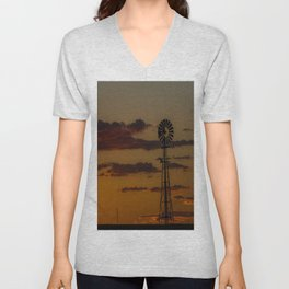 Burns Windmill Unisex V-Neck