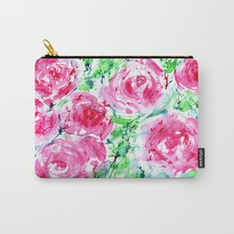 Blooming bouquet #7    watercolor Carry-All Pouch