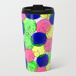 Kitty cuddles Travel Mug