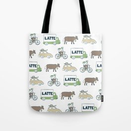 Winter Holidays Tote Bag