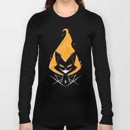 NightmareNetty (Orange) Long Sleeve T-shirt