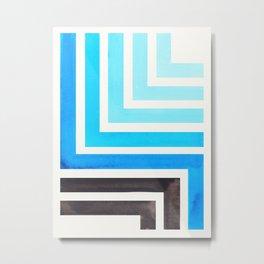 Cerulean Blue Metal Print