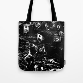 Space Odyssey Evolution Music Tote Bag