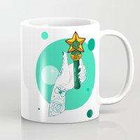 sailor jupiter Mugs featuring Jupiter by scoobtoobins
