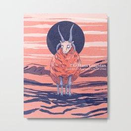 Manx Loaghtan sheep Metal Print