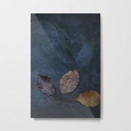 Leaves by Brian Vegas Metal Print