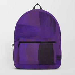 Purple on Purple Backpack