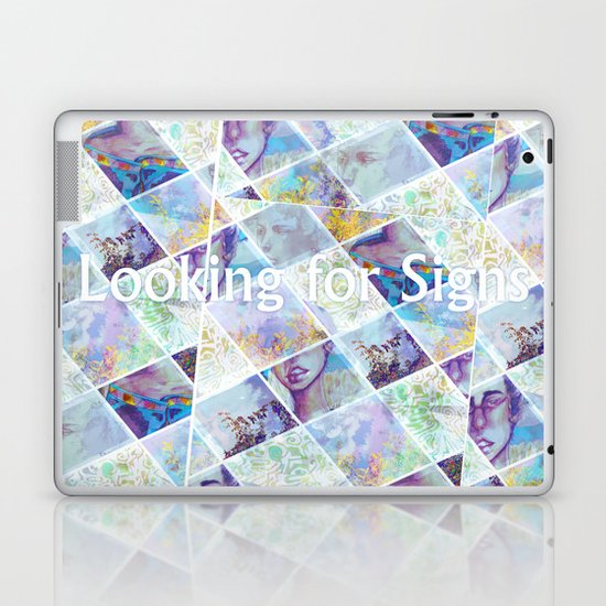 Looking for Signs Laptop & iPad Skin