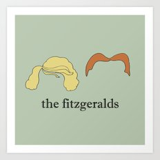 The Fitzgeralds Art Print