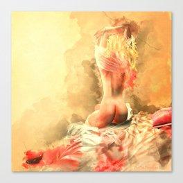 Beautiful Secret - Unveiling Canvas Print