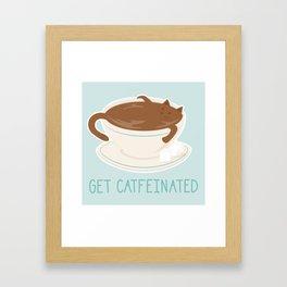 Catfeine Framed Art Print