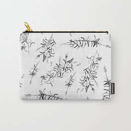 Fields of Black Lavender Carry-All Pouch