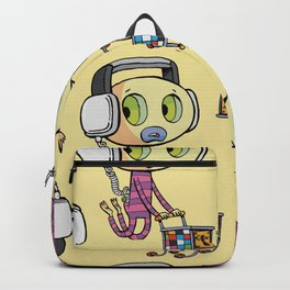 emo frightened disco buyer Backpack