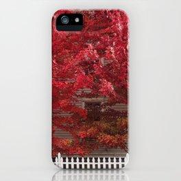 Autumn in Hudson iPhone Case