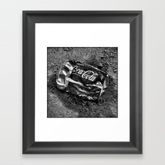 'Coca-cola' Framed Art Print