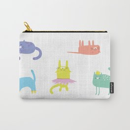 Playful Cats Carry-All Pouch
