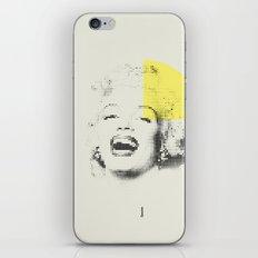 Marilyn Monroe   Esperantos   Dot-file #1 iPhone & iPod Skin