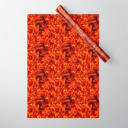 Fire for decorative products Wrapping Paper