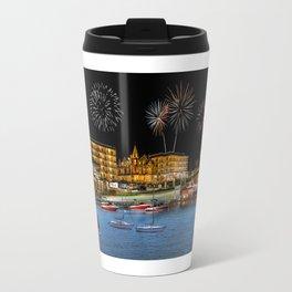 Harbor Shores Hotel on Lake Geneva, Wis. Travel Mug