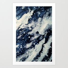 Under the snow Art Print