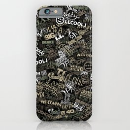 Hip Hop Comuflage iPhone Case
