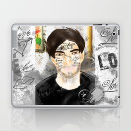 The Word you Never Say (Giannis). Laptop & iPad Skin