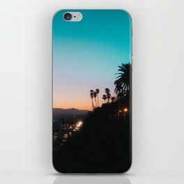 California Sunset iPhone Skin