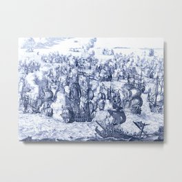 Naval Conquest Metal Print