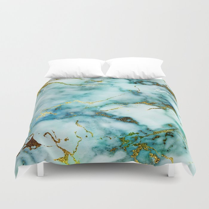 Marble Effect 1 Duvet Cover By Klaraacel Society6