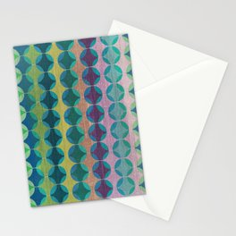 Colour Harmonies II Stationery Cards