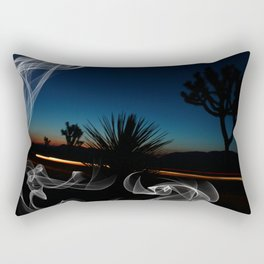 Desert Smoke Rectangular Pillow