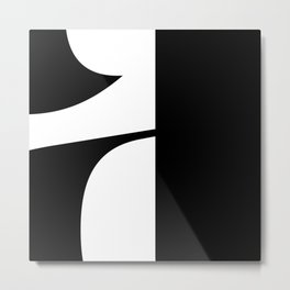 More than Shape Letter A Metal Print